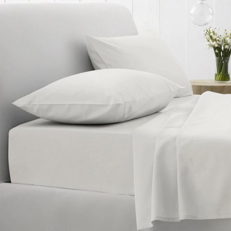 Sheridan 500Tc Fitted Sheet Snow