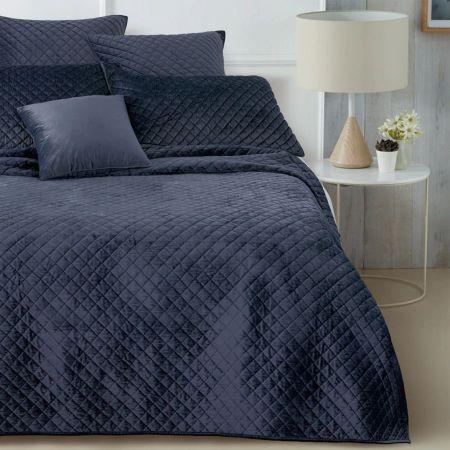 Sheridan Berrima Bed Cover Navy