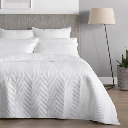 Sheridan Burrell Bed Cover White