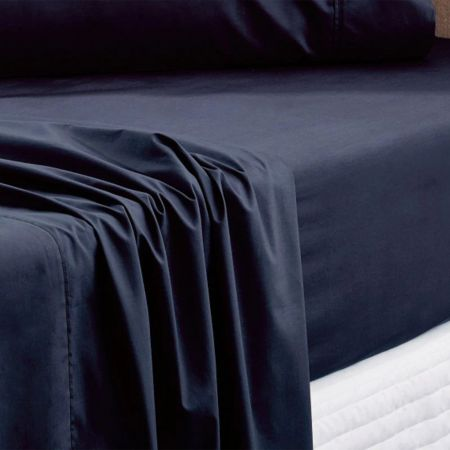 Sheridan Everyday Cotton 250Tc Fitted Sheet