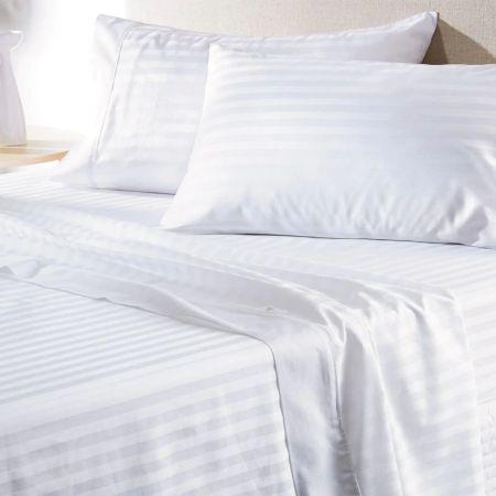 Sheridan Gable 400Tc Sheet Set White