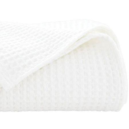 Sheridan Outlet Cotton Jumbo Waffle Blanket White