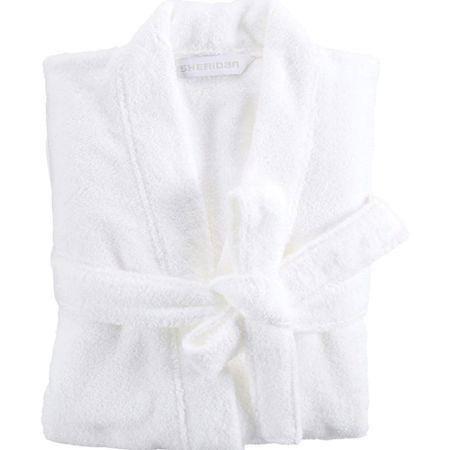 Sheridan ultra-light bathrobe white