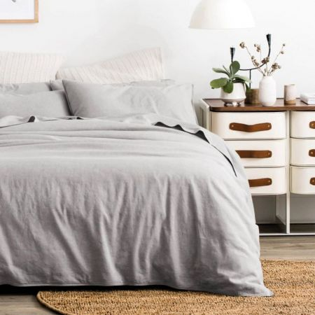 Sheridan Washed Linen Cotton Quilt Cover Set