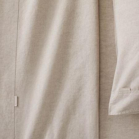 Sheridan Washed Linen Cotton Pair Pillowcase Natural