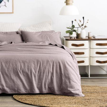 Sheridan Washed Linen Cotton European Pillowcase