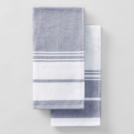 Sheridan Robyne Tea Towel Set Navy
