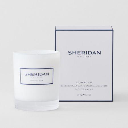 Sheridan Ivory Bloom Candle