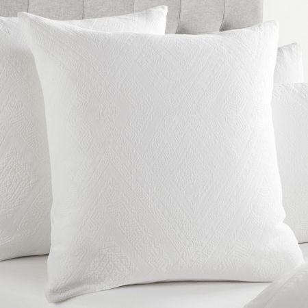 Sheridan Atana European Pillowcase White