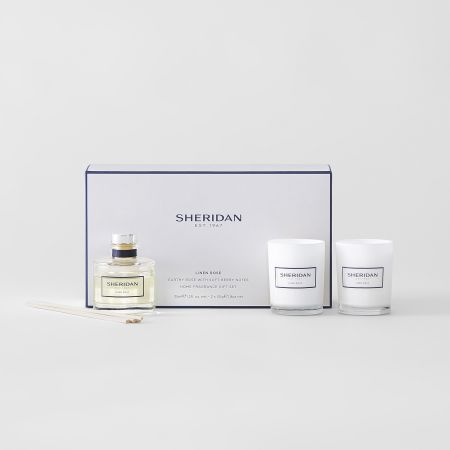 Sheridan Linen Rose Mini Gift Set