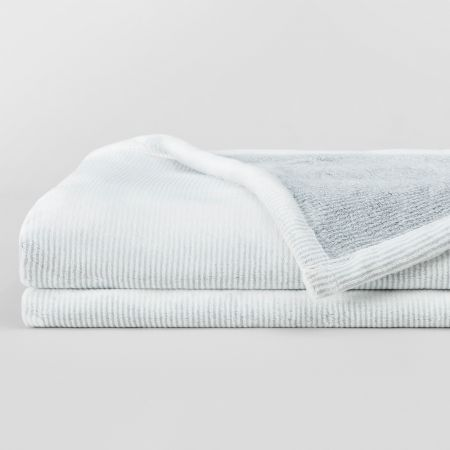 Sheridan Outlet Plush Blanket Grey
