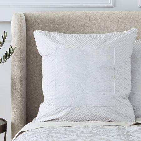 Sheridan Stedwell European Pillowcase Cloud Grey