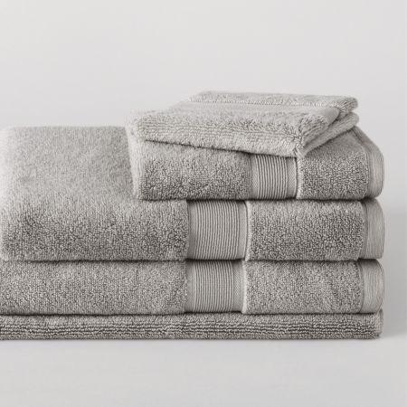 Sheridan Ultra-Light Luxury Towel Range Silver